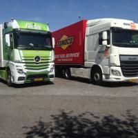 Vrachtwagens Roemenië